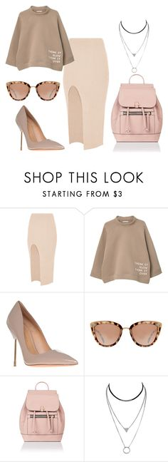 """""""Untitled #1459"""" by dani-gracik ❤ liked on Polyvore featuring Maurie & Eve, MANGO, Kurt Geiger and Accessorize"""