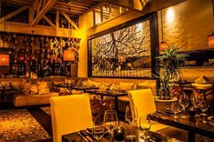 Host your event at Red O Restaurant Los Angeles in Los Angeles, California (CA). Party Venues, Wedding Receptions, Patio Dining, Dining Area, Los Angeles Restaurants, California Style, Atrium, Restaurant Bar, Perfect Place