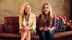Officially in LOVE with Maddie and Tae!! Check out Maddie & Tae's story.