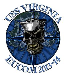 USS Virginia SSN-774 Submarine Shirt $19.95