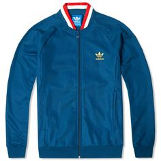 Adidas England Retro Track Top (Tribe Blue)