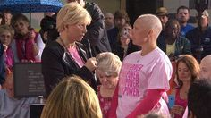 Joan Lunden on breast cancer: We're losing our hair in order to ...