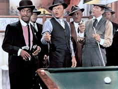 Robin and the seven hoods Gangster Movies, Classy People, Jerry Lewis, Dean Martin, Movie Stars, Robin, It Cast, Hollywood, Glamour