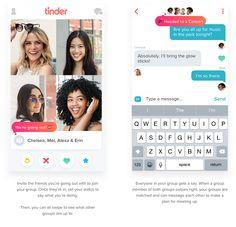 #Tinder Social : d'application de rencontre à réseau social