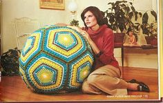 giant crochet floorball