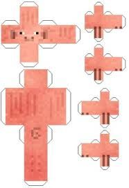 Printable paper crafts for Minecraft
