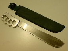 Push Dagger Knives   WeaponCollector's Knuckle Duster and Weapon Blog: Some Home Made ...