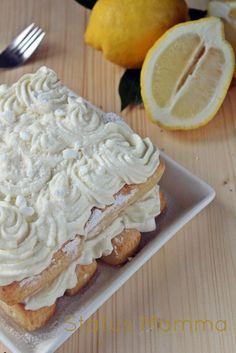 Tiramisu alla crema di lemon curd meringato cream