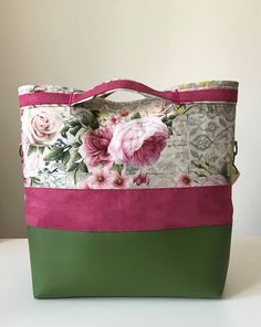 Couture Cuir, Tote Bags For College, Sew Together Bag, Tods Bag, Creative Shoes, Diy Bags Purses, Handbag Patterns, Handmade Purses, Reusable Shopping Bags