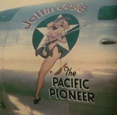 Joltin Josey The Pacific Pioneer....Boeing B-29 at Isley Field 1945......