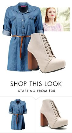 """Lydia Martin inspired outfit"" by maliahennig ❤ liked on Polyvore featuring Boohoo and Qupid"