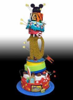 Disney's Animal Kingdom Parade Cake