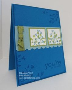 Barb Mullikin, Stampin' Up! Pocket Silhouettes
