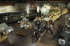 CA Railroad Museum. Silas would love! (Sacramento)