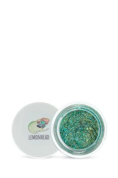 Seapunk glitter by Lemonhead™ is a multidimensional diorama of iridescent and aquamarine tones. May induce hallucinations of riding unicorns underwater. How to use: SPACEJAM is best used with a tint brush, wide synthetic brush or by hand. Removal: Gently brush out of dry hair or wash out. Rinses off skin easily with water.