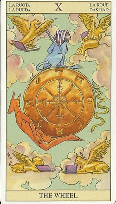 The Wheel of Fortune Card and Luck. What does luck mean to you?