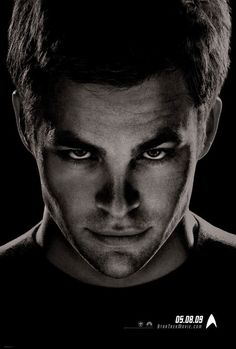Chris Pine, Star Trek.    You might remember him from the second Princess Diaries!! :D