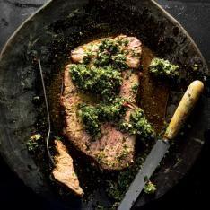 Pernil Asado Con Mojo (Mojo-Marinated Pork Shoulder Roast) Recipe | SAVEUR