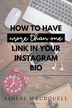 Use this Instagram trick to help you get the most out of your one link  in your Instagram for business bio. Get more followers and clients by optimizing your 10 seconds it takes to grab their attention. #ashleemacdouellmedia #instagramtips #onlinebusiness Social Media Management Tools, Social Media Tips, Social Media Marketing, Small Business Marketing, Online Business, Get More Followers, Free Facebook, 10 Seconds, Instagram Bio
