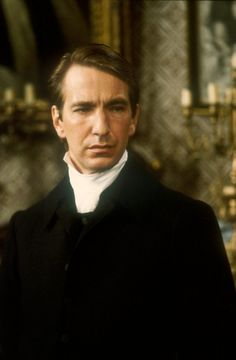 Alan Rickman, 1982, 'The Barchester Chronicles'. This was his breakthrough role. I have to agree. I was astounded at his acting. I haven't such good acting in awhile. He played his character so well that I loved and despised Obadiah SLOPe (haha)