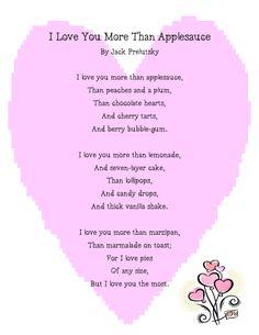 Images Prelutsky <b>Poem</b> in <b>Silly love poems for kids</b>