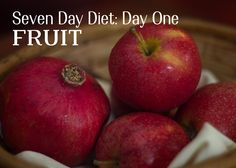 Lose 10 Pounds in a Week: Day One
