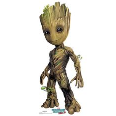 Guardians of the Galaxy 2 Groot Standee