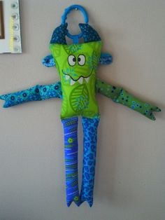 Monster softie baby toy/gift quilt shop quality 100% cotton fabrics, machine wash/dry, removeable link ring to attach to carseat, stroller, etc. Taking orders-  Just-$20.00