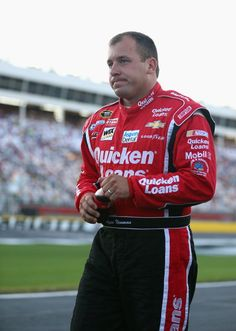 CONCORD, NC - MAY 23: Ryan Newman, driver of the #39 Quicken Loans Chevrolet, walks on the grid during qualifying for the NASCAR Sprint Cup Series Coca-Cola 600 at Charlotte Motor Speedway on May 23, 2013 in Concord, North Carolina. (Photo by Streeter Lecka/Getty Images)