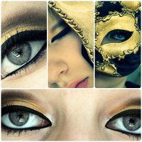 make up gold rush by ViivaVanity