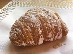 A wonderful Sfogliatelle pastry. Buy at Lunardi's market now that Cafe Sienna is no longer in town. Yummy Food, Restaurant, Twist Restaurant, Delicious Food, Diner Restaurant, Restaurants, Dining Rooms, Good Food