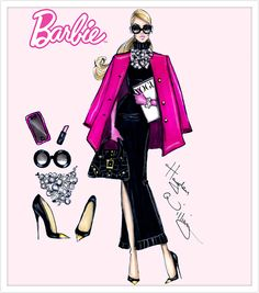Barbie Style by Hayden Williams: 'Fashion Week Chic'| Be Inspirational❥|Mz. Manerz: Being well dressed is a beautiful form of confidence, happiness & politeness
