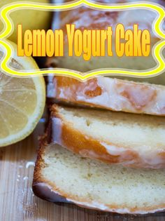 Lemon Yogurt Cake Recipe. This Lemon Yogurt Cake is neither fancy nor complicated. Even better, it has a relatively short ingredient list. #recipe #cake