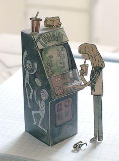 Arcade machine by Scott Campbell