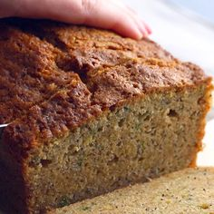 Tea Recipes, Dessert Recipes, Cooking Recipes, Desserts, Olive Oil Zucchini Bread, Muffins, Savory Breakfast, Sweet Bread, Pain