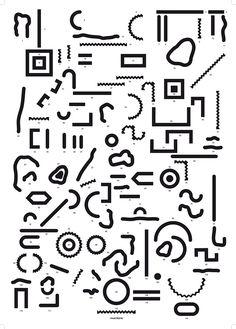 «Les Normographes, jeu de composition typographique autonome pour les scolaires. Suite à la découverte de la pédagogie Freinet, Lucile Bataille s'est interrogée tout au long de son cursus à l'ESAD…