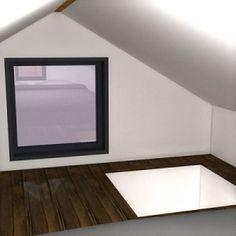 Sleeping Loft in the Nook Tiny House