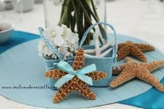 60 cute starfish beach wedding decoration 50 Beach Theme Centerpieces, Beach Wedding Decorations, Table Decorations, Beach Themes, Starfish, Cute, Beauty, Kawaii, Beauty Illustration