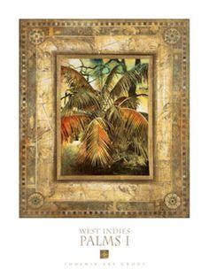 West Indies Palms I (27x36) 43.99