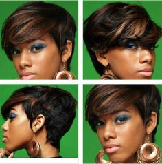Two-Toned Tresses on short hair...LOVE this!!!!