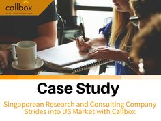 Callbox delivered five face-to-face appointments with Fortune 1000 clients in one month, all scheduled on two consecutive dates. Most impressive was the fact that the Client was able to close all five of them, which speaks to the effectiveness of its sales team, the effectiveness of the partnership, and quality of Callbox's appointment setting service.