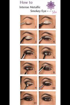 Different ways to get a smokey eye. #Beauty #Trusper #Tip