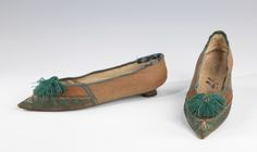 Slippers1805-1810The Metropolitan Museum of Art