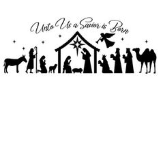 Cricut Christmas Ideas, Christmas Stencils, Christmas Wood Crafts, Christmas Vinyl, Christmas Printables, Christmas Projects, Christmas Holidays, Christmas Nativity, Christmas Bells