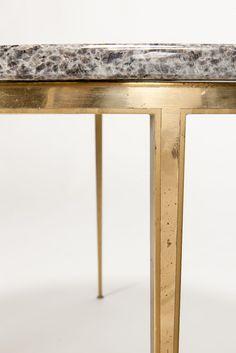 Marble Brass Coffee Table 50' - Okay Art
