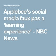 An employee at Applebee's posted a picture of a receipt on social media. As a result, that employee was fired for violating policy. The issue: Applebee's had done the same thing two weeks prior. The company received major backlash and their reaction was to become defensive and argumentative, going as far as deleting negative comments and hiding previous posts. Emily Pollack