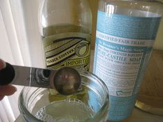 Simple Homemade Eye Makeup Remover (I'm going to try it with grapeseed oil instead of olive oil.)