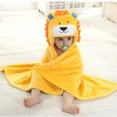 Poncho lion pour bébé