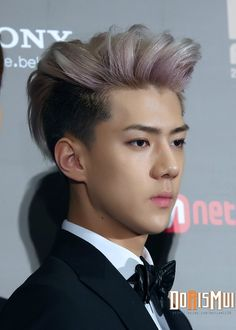 SEHUN ♡ #EXO // MAMA 2013 this is probably my favorite photo of Sehun EVER. So handsome!