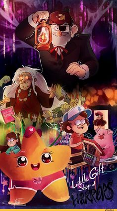Gravity Falls,Stanley Pines,Dipper Pines,Mabel Pines,Waddles,CherryVioletS